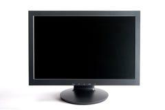 计算机宽显示器屏幕 免版税库存图片