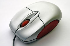 计算机对角鼠标查阅 库存图片