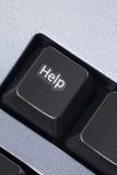 计算机帮助键 库存照片