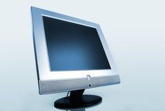 计算机平面的现代监控程序钢 库存图片