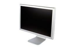 计算机平面的lcd监控程序面板 免版税图库摄影