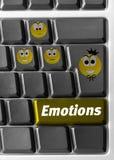 计算机情感关键董事会符号 库存照片