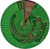 计算机控制学的光盘 免版税库存照片