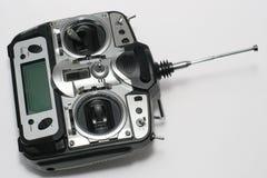 计算机控制飞行专业遥控 免版税库存照片