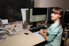 计算机控制X线断层扫描术实验室 免版税库存图片