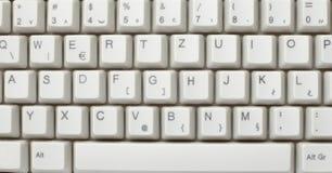计算机数字式关键董事会技术 免版税库存照片