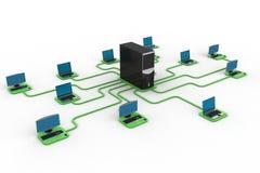 计算机数据中心 图库摄影