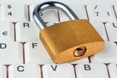 计算机数据安全性 库存图片
