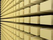 计算机文件系统 库存照片