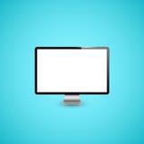 计算机显示器例证 库存照片