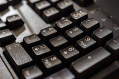 计算机服务器或台式计算机的键盘 库存照片
