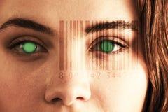 计算机条码的综合图象的综合图象 图库摄影