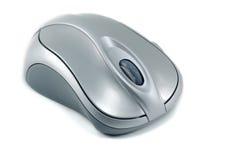 计算机查出光学的鼠标 免版税库存照片