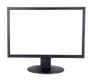 计算机查出的监控程序白色 库存照片