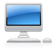 计算机桌面 免版税库存图片