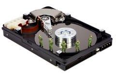 计算机概念数据安全性 免版税库存照片
