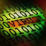 计算机概念病毒 免版税库存图片
