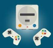 计算机游戏的控制台 免版税库存照片