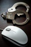 计算机犯罪 图库摄影