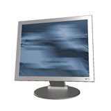 计算机现代监控程序 图库摄影