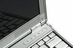 计算机现代笔记本 图库摄影