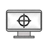 计算机电子工作 向量例证