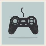 计算机电子游戏控制杆传染媒介 免版税库存照片