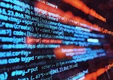 计算机病毒攻击背景 向量例证