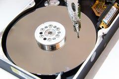 计算机硬盘的特写镜头 库存图片