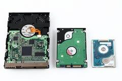 计算机硬盘驱动器 库存图片