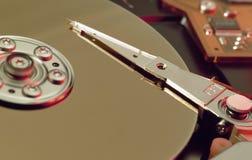 计算机硬盘 免版税库存照片