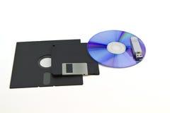 计算机磁盘存储 免版税库存图片