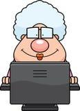 计算机祖母 库存例证