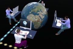 计算机科技 免版税库存照片