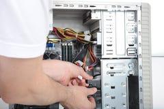 计算机维护 免版税图库摄影