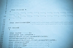 计算机编程 免版税库存照片
