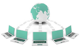 计算机网络 库存照片