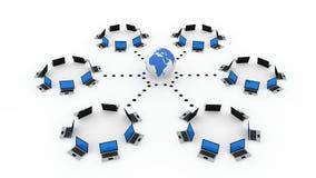 计算机网络 免版税图库摄影