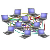 计算机网络 免版税库存图片