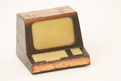 计算机膝上型计算机玩具 免版税库存图片