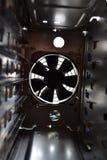 计算机致冷机困难盘的风扇 免版税库存照片