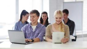 计算机选件类的学员 影视素材