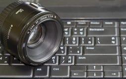 计算机透镜填充其它 免版税图库摄影