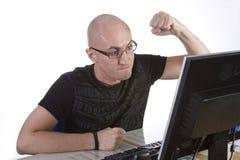 计算机重点 免版税库存照片