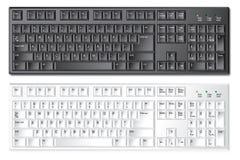 计算机键盘个人计算机 免版税库存图片