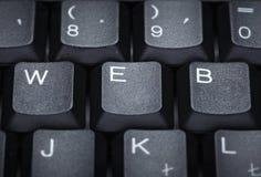计算机键盘信函techniology万维网字 图库摄影