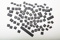 计算机键盘的宽松字母数字的盖子 免版税库存图片