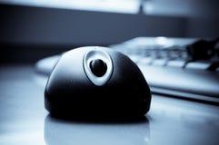 计算机键盘鼠标 免版税库存图片