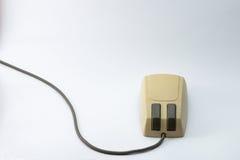 计算机鼠标老牌 库存照片