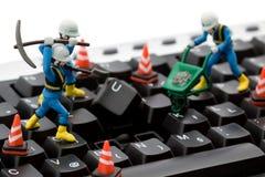 计算机维修服务 免版税库存图片
